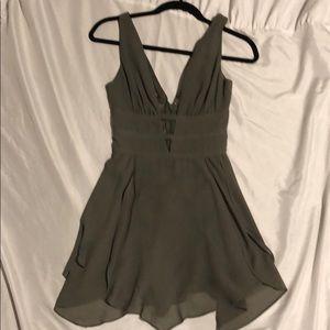 NWOT BEBE Olive Skater dress